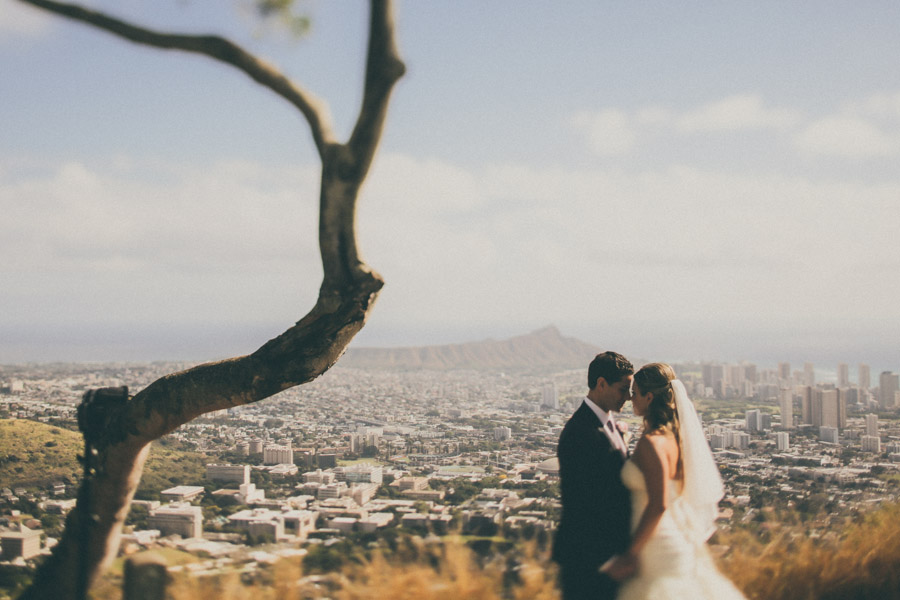 Oahu, Hawaii Wedding - A&D