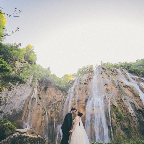Plitvice Lakes Wedding, Croatia - M&G